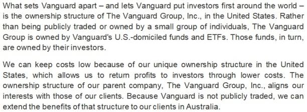 Vanguard Spin