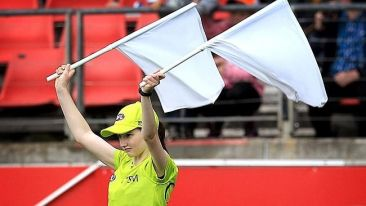 AFL umpire flags