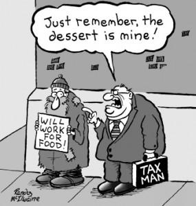 Taxman dessert