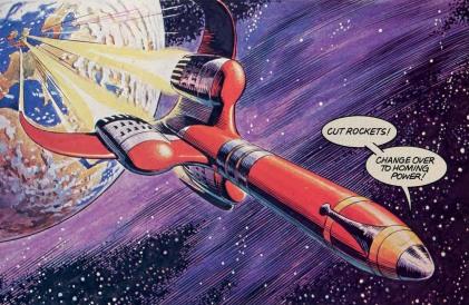 Rocket comic