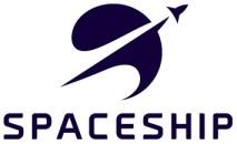 Spaceship logo vertical