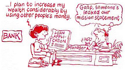 Bank mission